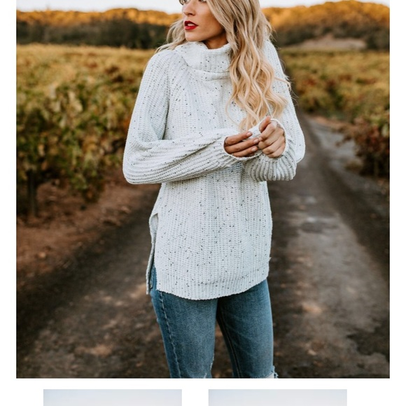 48f9b775462d Chunky Knit Turtleneck Sweater